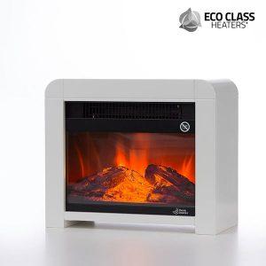 Aquecedor Micatérmico Elétrico Eco Class 1200W | Preto ou Branco
