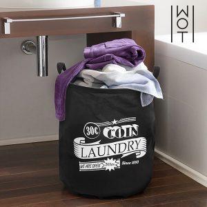Saco Para Roupa Suja Preto | Laundry Wagon Trend