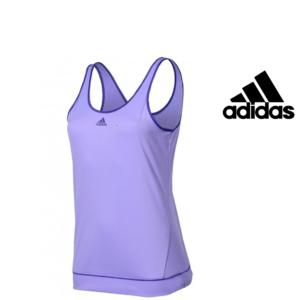 Adidas® T-Shirt Caveada Galaxy Tank Lilás | Tecnologia ClimaLite®