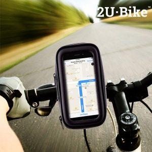 Capa Com Suporte de Telemóvel Para Bicicletas | 2U Bike