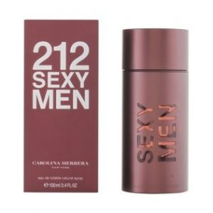 Perfume Carolina Herrera | 212 Sexy Men 100 ml