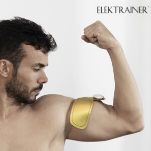 Eletroestimulador Elektrainer Blast   15 Níveis de Intensidade   Tonifica os Músculos dos Braços,Cintura e Pernas !