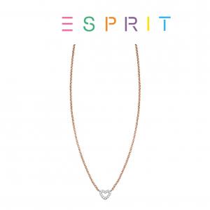 Esprit® Colar Rose Gold | Coração com Brilhantes