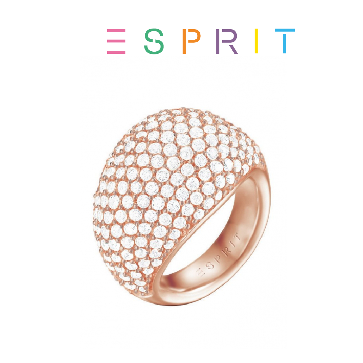 esprit ring mede esrg c190 rose gold 19mm you like it