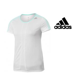 Adidas® T-Shirt Running Branca | Tecnologia Climalite®