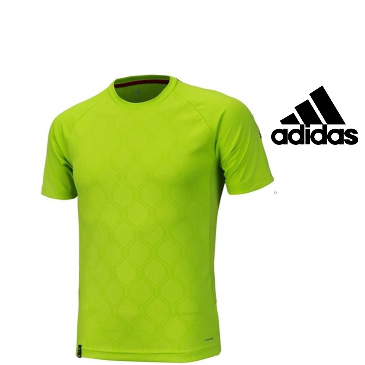 Arqueológico Calumnia Conversacional  Adidas® Camiseta verde fluorescente | CLIMACOOL® - You Like It