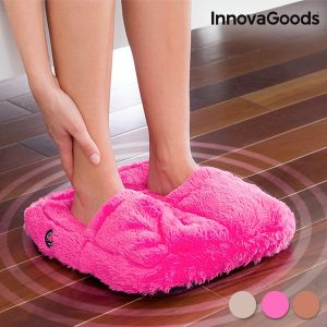 Massajador Electrico de Pés Fluffy | Mantenha os Pés Quentes Enquanto faz Massagem | 3 Cores