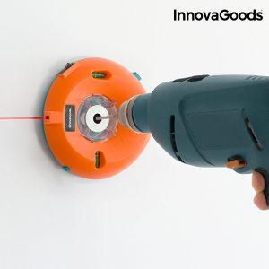 Recolhe Pó para Berbequim com Níveis e Marcador Laser InnovaGoods | Multi-Funcional e Inovadora