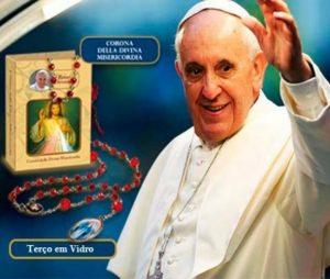Terço Religioso | Coleção Papa Francisco | Coroa da Divina Misericórdia