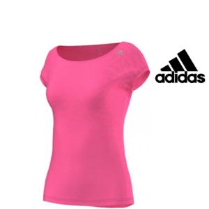 Adidas® T-Shirt Graphic Tee Rosa | Tecnologia Climalite®