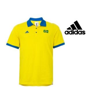 Adidas® Polo Brasil | 100% Algodão