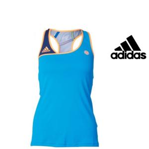 Adidas® T-Shirt Caveada Roland Garros Azul | Tecnologia Climacool®