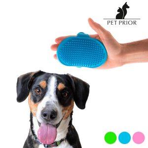 Pack 2 Luvas-Escova Para Animais de Estimação Pet Prior | Cores Enviadas Aleatoriamente!