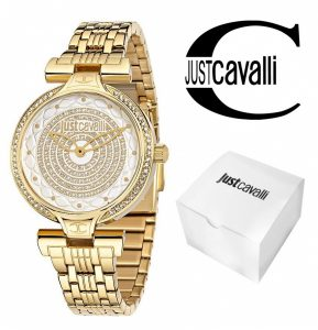 Relógio Just Cavalli® Glitter Gold   3ATM