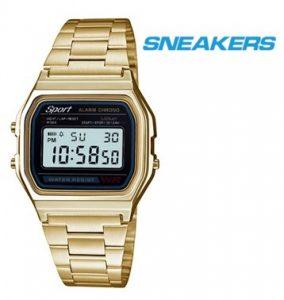 Relógio Sneakers® 40532 Dourado | 3ATM