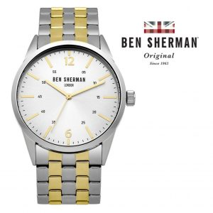 Relógio Ben Sherman® London Original Since 1963 WB060GSM I 3ATM