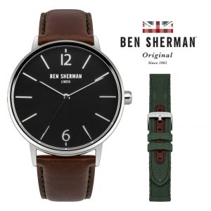 Relógio Ben Sherman® London Original Since 1963 WB059BRN I 3ATM