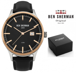 Relógio Ben Sherman® London Original Since 1963 WB056BB I 3ATM