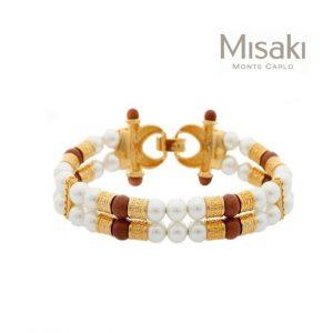 Pulseira Misaki®QCRBTITUS | Gold Titus