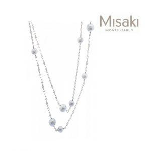 Colar Misaki® QCRNSIRIUSLONG | Silver