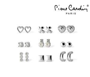 Conjunto Pierre Cardin® Crystals & Pearls | 9 Pares Brincos