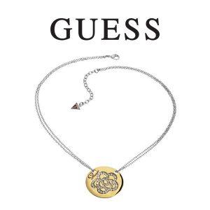 Guess® Colar Mandala Gold & Silver
