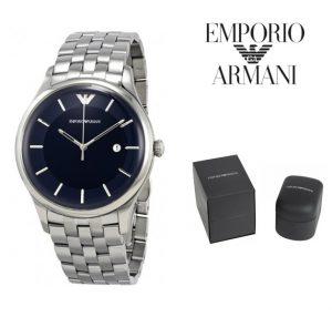 Relógio Emporio Armani® Lambda Quartz Stainless Steel