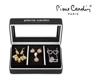Conjunto Pierre Cardin® Timeless Shine | 3 Colares e 6 Brincos