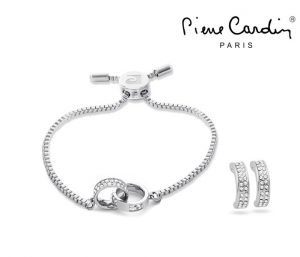 Conjunto Pierre Cardin® Pulseira e Brincos | Silverless