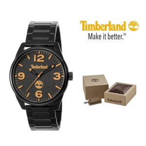 Relógio Timberland® Holliston Black Analog | 5ATM