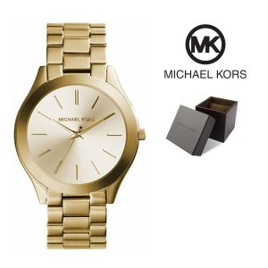 Relógio Michael Kors® Slim Runway II Dial Gold | 5ATM