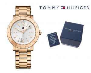 Relógio Tommy Hilfiger® Aubrey Silver Dial Rose Gold  | 3ATM
