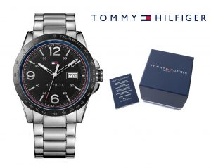 Relógio Tommy Hilfiger® Stainless Steel Black | 5ATM