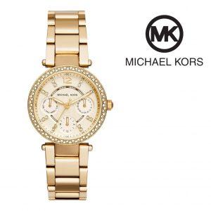 Relógio Michael Kors® Mini Parker Champagne Glitz | 5ATM