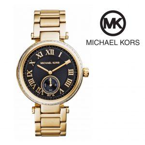 Relógio Michael Kors® Skylar Black Dial Gold | 5ATM