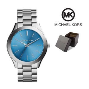 Relógio Michael Kors® Slim Runway Blue Dial  | 5ATM