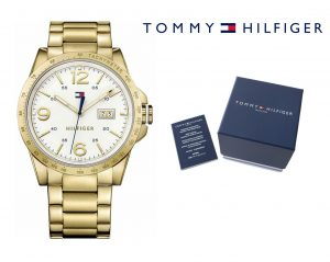 Relógio Tommy Hilfiger® Casual Sport Gold Tone | 5ATM