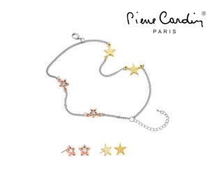 Conjunto Pierre Cardin® Pulseira e 4 Brincos | Muse Starlight