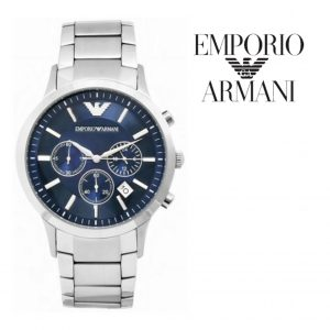 Relógio Emporio Armani® Navy Blue Dial