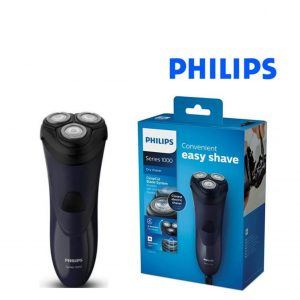 Máquina De Barbear Elétrico Philips S1100/04 CloseCut 240 V 9W Preto