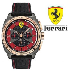 Relógio Ferrari®Scuderia | Chrono Rose Gold Dial Black