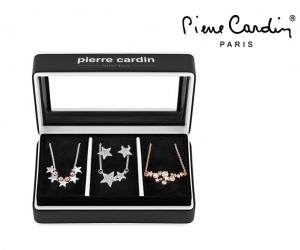 Conjunto Pierre Cardin® 3 Colares e 2 Brincos | Estrelas