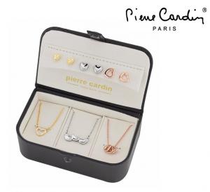 Conjunto Pierre Cardin® 3 Colares e 6 Brincos | Dourado, Prateado e Rose Gold
