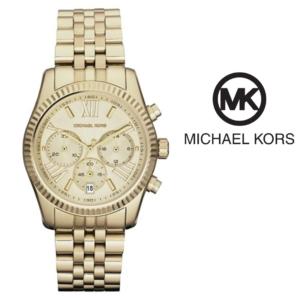 Watch Michael Kors® Lexington Chronograph Gold| 10ATM