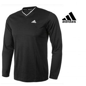 Adidas® Camisola Decote em V Tennis| Tecnologia Climalite®