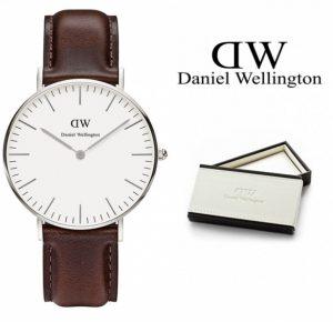 Daniel Wellington® Relógio Classic Bristol Silver | 3ATM