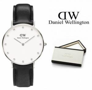 Daniel Wellington® Relógio Classy Sheffield Crystals Silver | 3ATM
