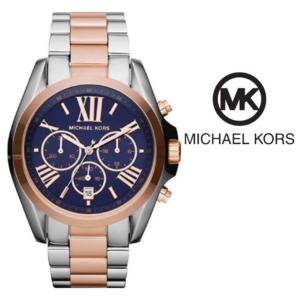 Watch Michael Kors® Bradshaw Chronograph Blue Marine | 5ATM