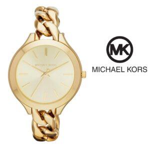 Watch Michael Kors® Slim Runway Champagne Dial Gold | 5ATM