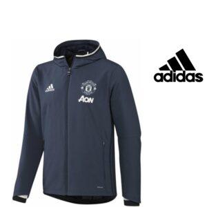 Adidas® Casaco Manchester United Oficial Júnior | Poliéster Tecnologia Climacool®
